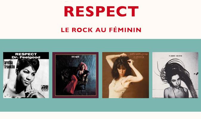 Respect Le rock au féminin - Steven Jezo-Vannier