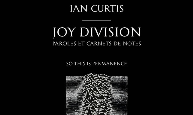 Ian Curtis Joy Division So This Is Permanence